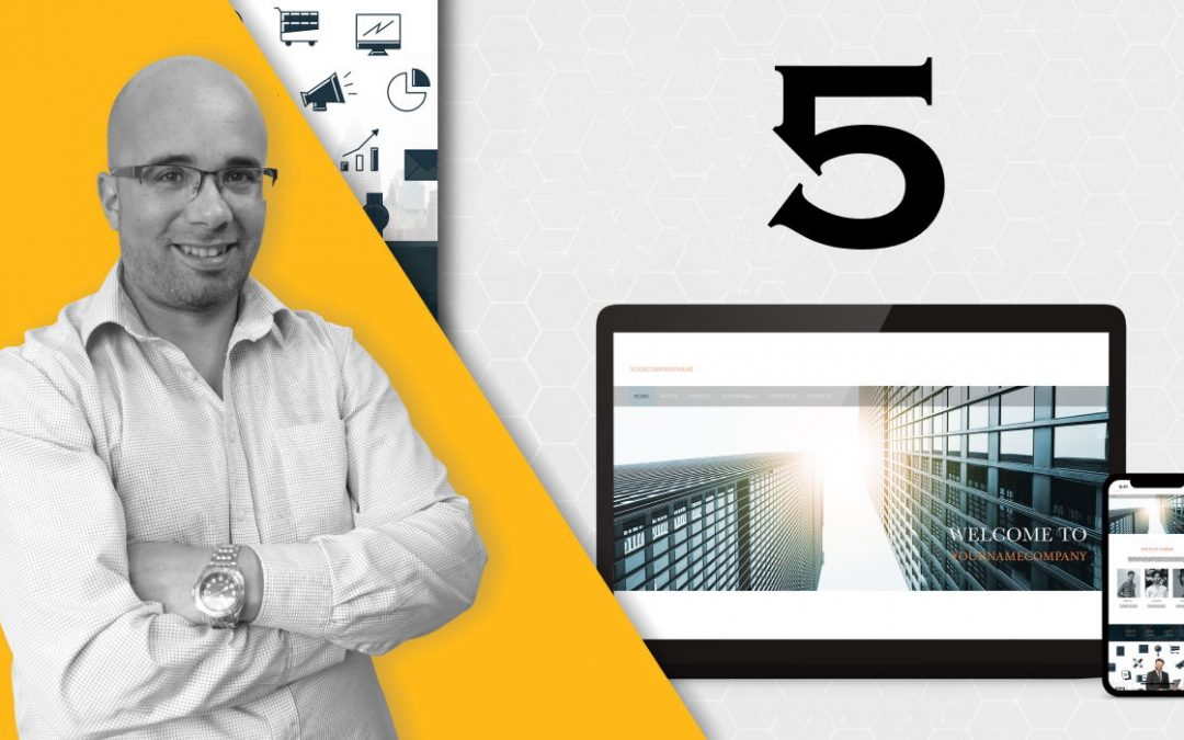 5 Key Things To Do When Building A Successful Business Website